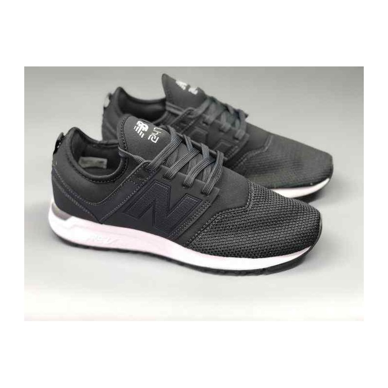New Balance 247 Luxe Leather,New Balance 247 Grey White,New ...
