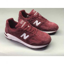 New Balance 990V2 Wine Red Size: 36-44.5