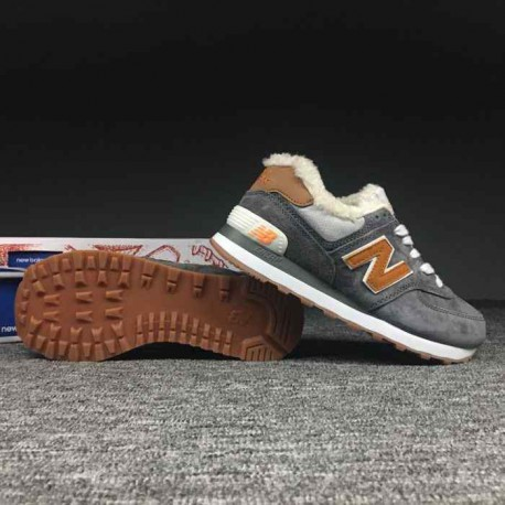 New balance 574 size:36-44 pigskin cotton-wool blend