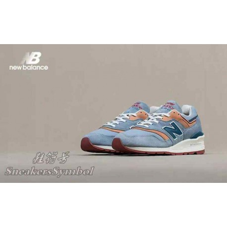 New balance 997dol light touch of orange - release