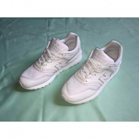 6 years deadstock new balance m997 small white shoes size: 36-44 yards