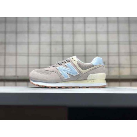 cheap for discount ec1af 0cdd3 New Balance 574 Suede Trainers,New Balance 574 Brown Suede,New Balance  574FLC Size:36-44 Suede